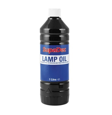 Lamp & Garden Unscented Torch Oil 1ltr - SupaDec - Multi Buy Offer