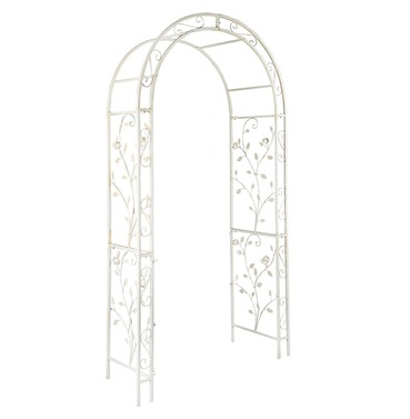 English Metal Garden Rose Arch by Gardman