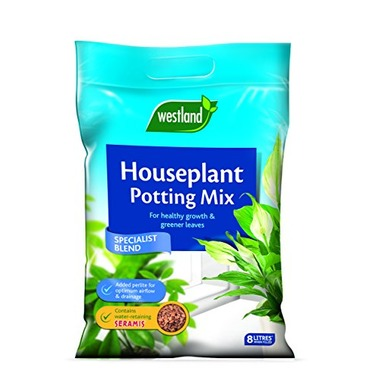 Indoor House Plant Potting On Compost Mix - Westland Garden Health - 8 Litres