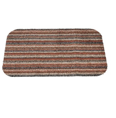 Washable Door Mat - Moroccan Stripe Cotton