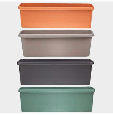 Terrace Trough Planter 40cm - Different Colour Options