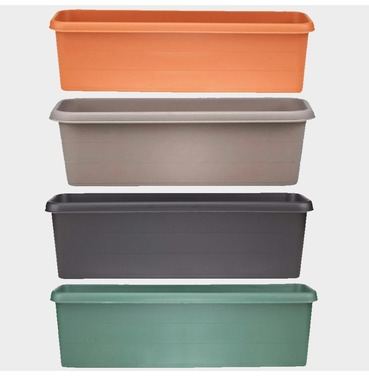 Terrace Trough Planter 60cm - Different Colour Options