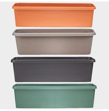 Terrace Trough Planter 80cm - Different Colour Options