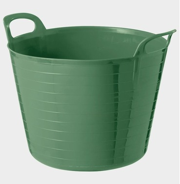 Garden Flexi Tub Bucket - Green - Different Size Options