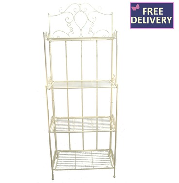 Blaisdon Bakers Rack - 4 Tier Plant Stand