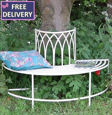 Gothic Half Tree Seat - Classic Cream