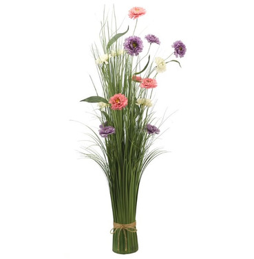 Summer Sensation Faux Artificial Bouquet of Flowers
