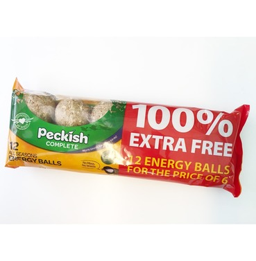 Peckish Complete 12 Energy Fat Balls