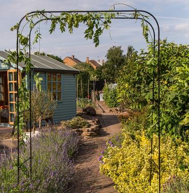 Extra Wide Metal Garden Arch