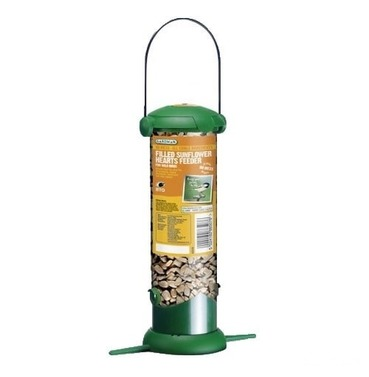 Preloaded Filled Flip Top Sunflower Hearts Feeder