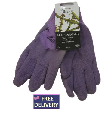 All Rounder Gardening Gloves - Medium - Purple - Briers