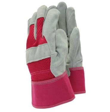 All Rounder Rigger Gardening Gloves - Pink - Small