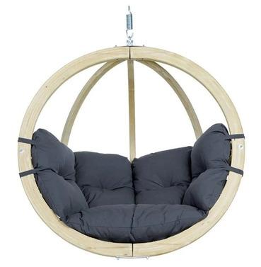 Globo Pod Chair Swing Seat Only - Anthracite - Amazonas Hammock
