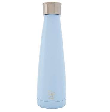 S'ip by S'well Cotton Candy Blue Thermos Water Bottle 450ml