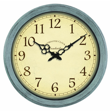 Cambridge Outdoor Wall Clock 14""