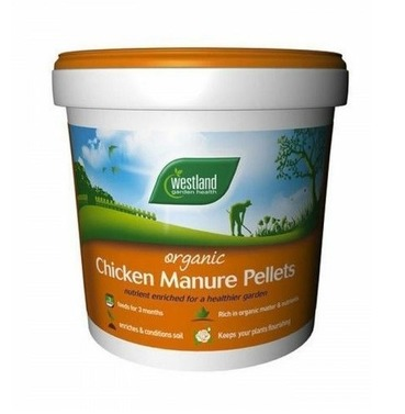 Chicken Manure Pellets Fertiliser 10kg - Westland