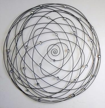 Circle Spiral Wall Art Decoration