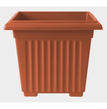 Corinthian Square Planter 40cm - Lightweight