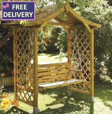 Dartmouth Arbour with Swing Seat