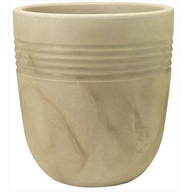 Egg Pot Round Planter 37cm - Lightweight