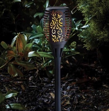 Solar Cool Flame Flaming Tourch - Large