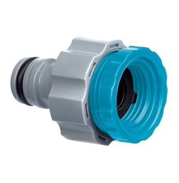Flopro Dual Fit Outside Tap Connector - 19mm (3/4 Inch) 12.5mm (1/2 inch Insert)