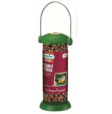 Preloaded Filled Flip Top Peanut Feeder