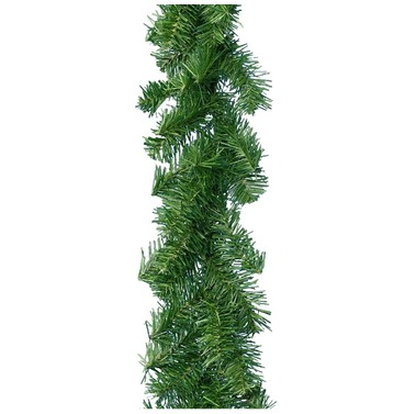 Christmas Decorative Garland Swag 270 x 20cm Green - Kaemingk