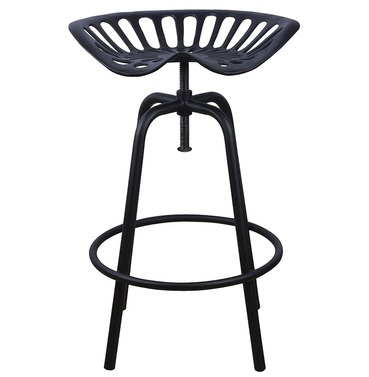 Tractor Seat - Black - Bar Stool