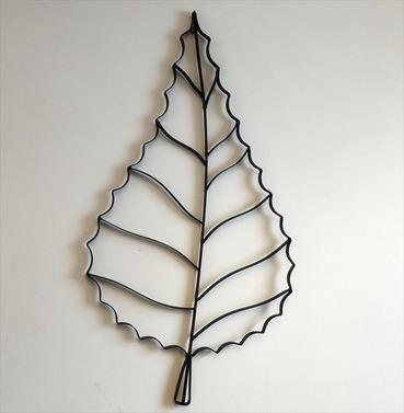 Leaf Metal Wall Art Decoration
