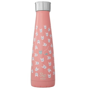 S'ip by S'well Look at Meow Thermos Water Bottle 450ml