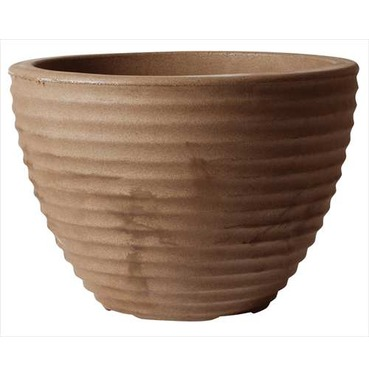 Low Honey Pot Planter 50cm CHOCOLATE - Lightweight
