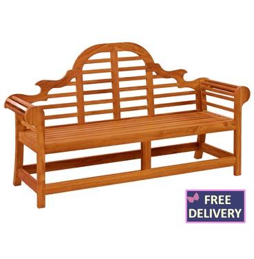 Cornis Lutyens Wooden Bench - 6ft