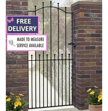 Manor Tall Single Metal Garden Gate