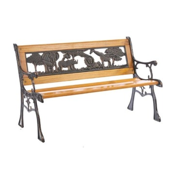 Animal World Jungle Bench - Childrens Garden Furniture