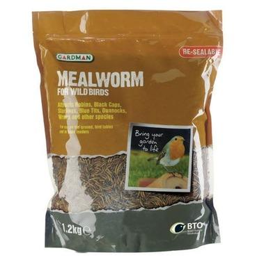 Gardman Quality Mealworms - 1.2kg