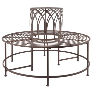 Old Rectory Tree Seat Antique Brown