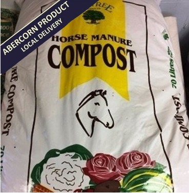 Oak Tree Horse Manure Compost - 45L - Abercorn Local Delivery Product