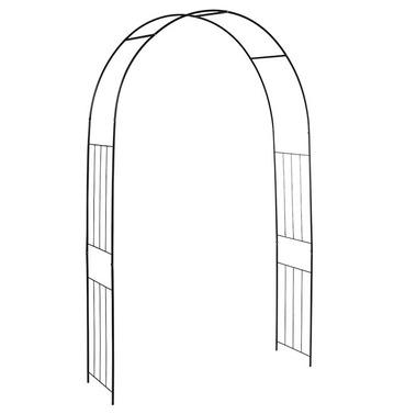 Esschert Garden Straight Bar Rose Arch