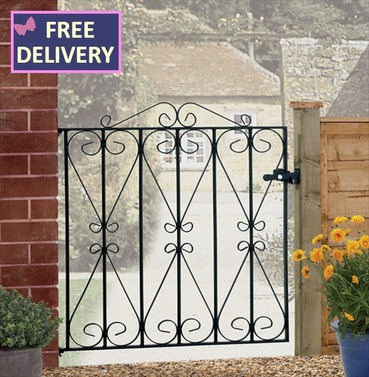 Regent Single Metal Garden Gate
