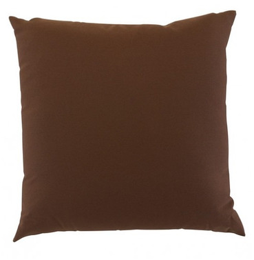 "Garden Furniture Scatter Cushion in Chocolate 18"" x 18"""