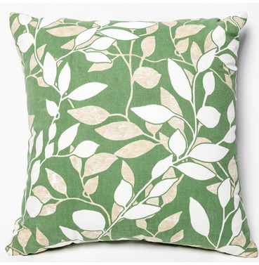 "Garden Furniture Scatter Cushion in Cotswold Leaf 18"" x 18"""