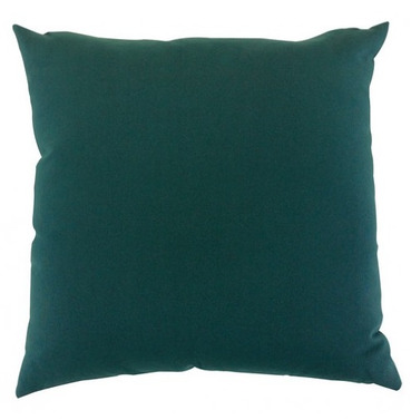"Garden Furniture Scatter Cushion in Green 18"" x 18"""