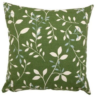 "Garden Furniture Scatter Cushion in Country Green 18"" x 18"""