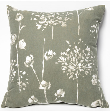 "Garden Furniture Scatter Cushion in Renaissance Grey 18"" x 18"""