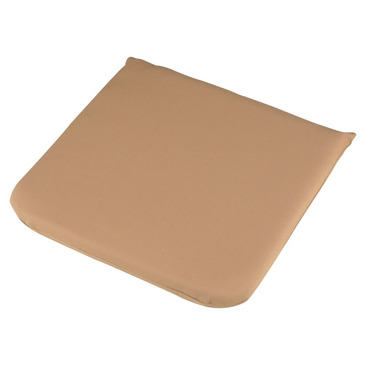 Garden Furniture Seat Cushion Pad in Mocha 40cm x 40cm