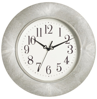 Shipton Garden Wall Clock - Grey Marble Effect