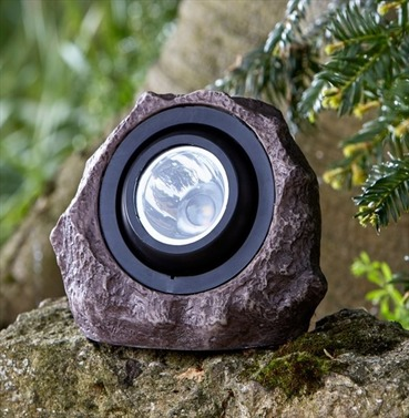 Solar Powered Jumbo Rock Light