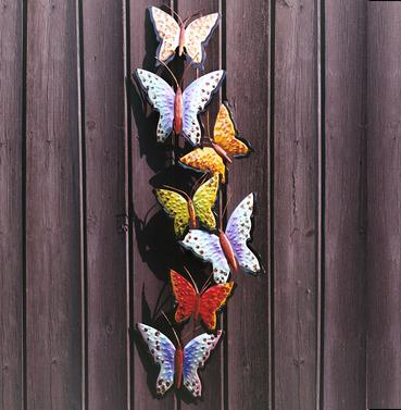 Line of Butterflies Wall Art