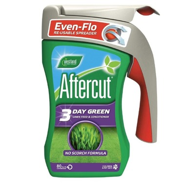 Westland Aftercut Lawn Grass Seed & Feed with Re-Usable Spreader